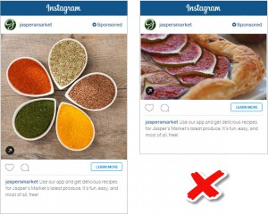 square vs landscape aspect ratio ads for instagram